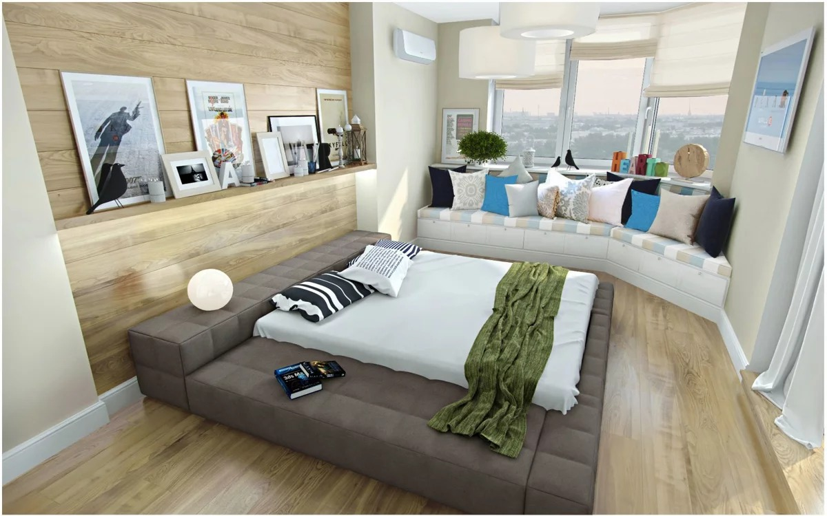 мягкий подиум в квартире