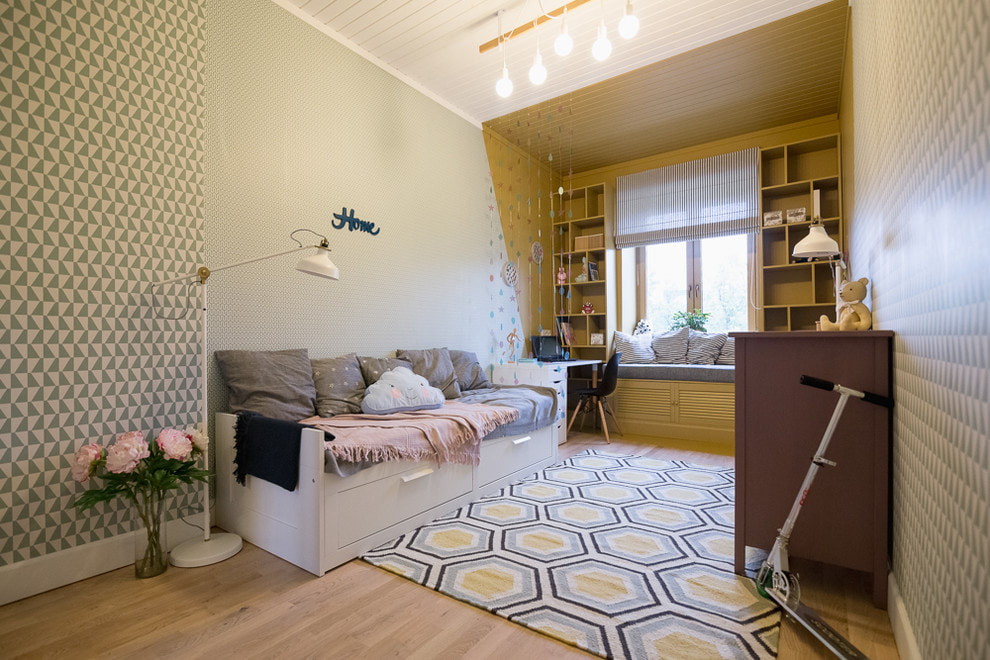 Выбор обоев для подростковой комнаты