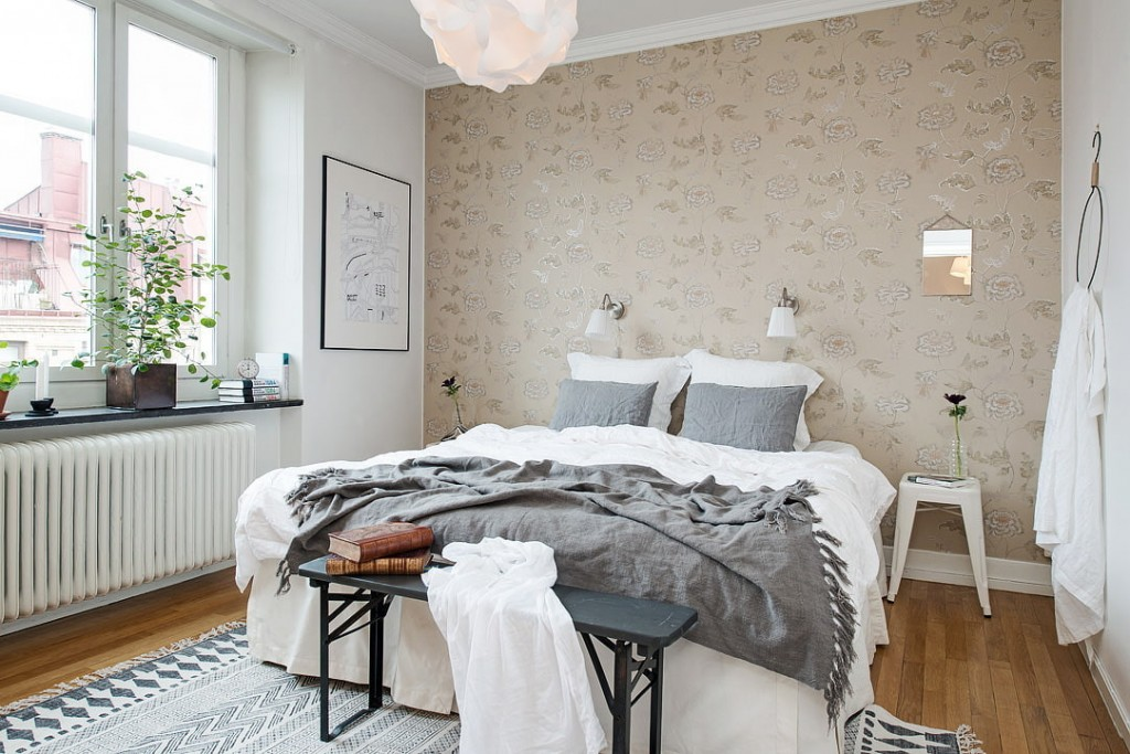 Выбор цвета обоев для скандинавского интерьера
