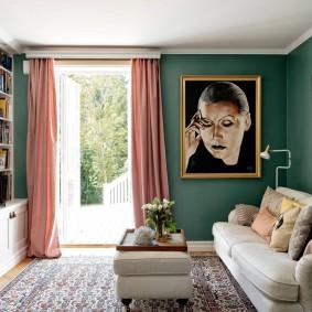 обустройство квадратной комнаты виды дизайна