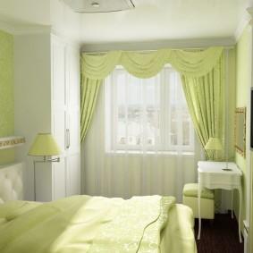 планировка спальни декор фото