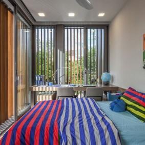 планировка спальни интерьер фото