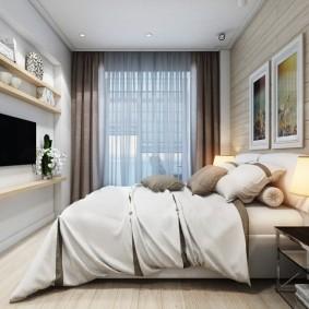 планировка спальни фото интерьер