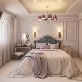 планировка спальни фото интерьера