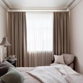 планировка спальни виды декора