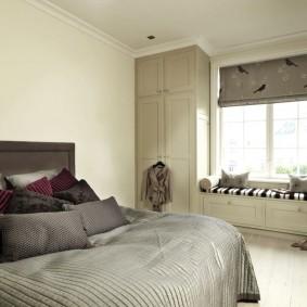 планировка спальни дизайн фото