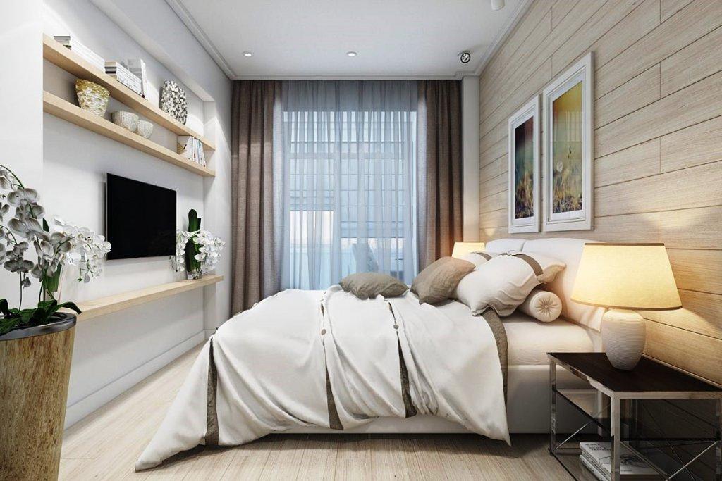 планировка спальни в квартире