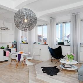 подиум в квартире идеи дизайна