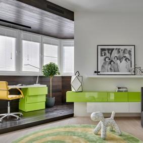 подиум в квартире фото декор