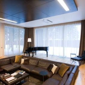 подиум в квартире идеи декор