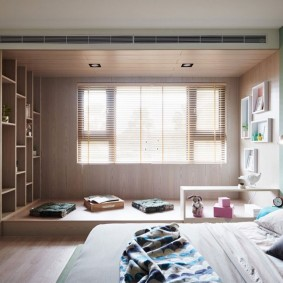 подиум в квартире фото интерьер