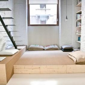 подиум в квартире оформление
