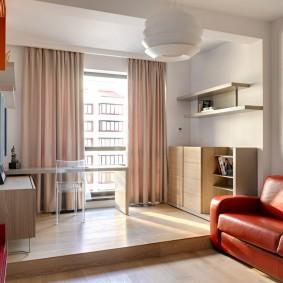подиум в квартире дизайн