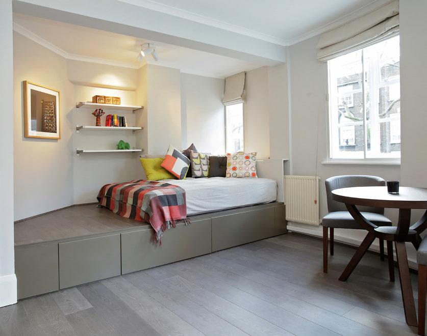 подиум в квартире дизайн фото