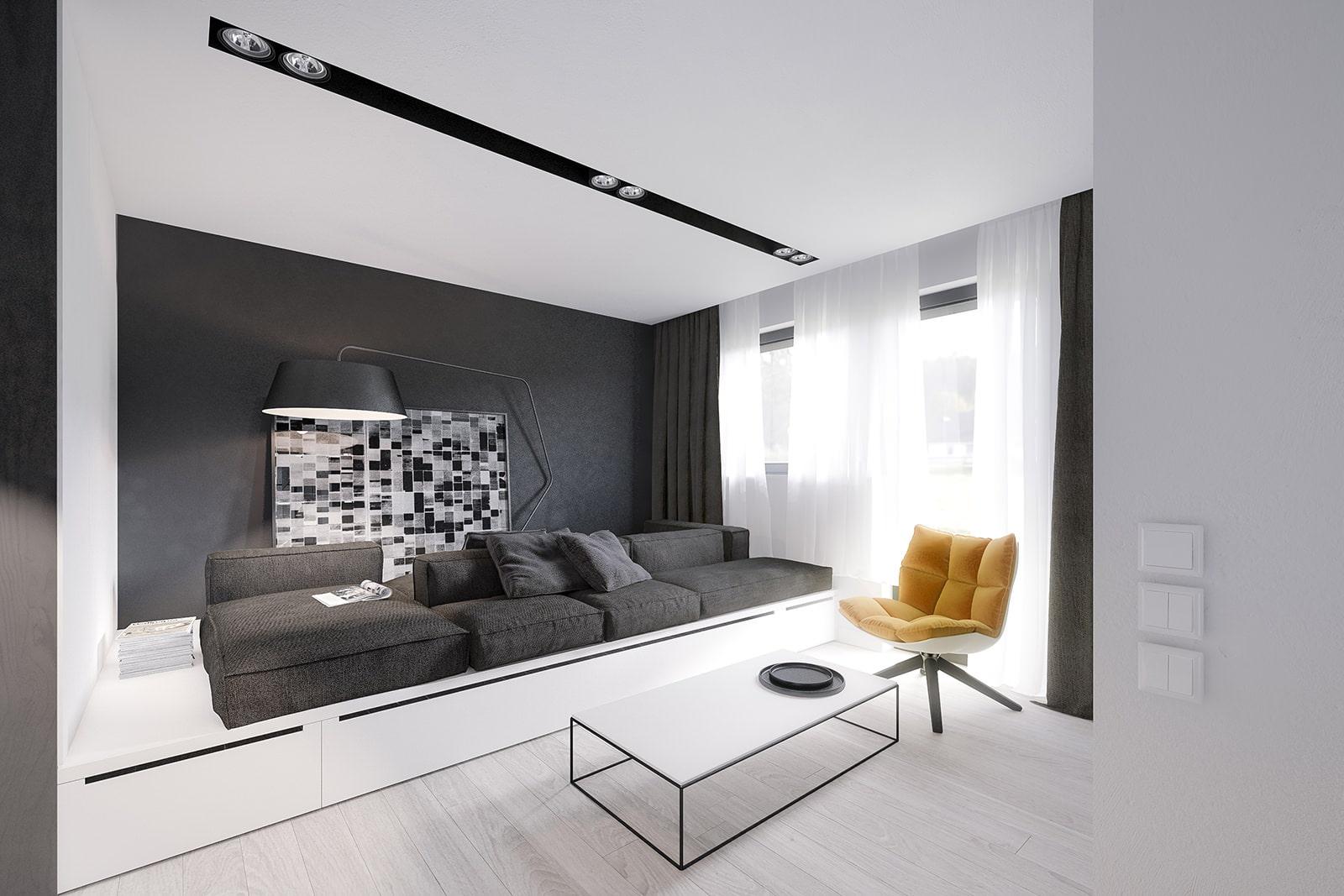 подиум в квартире дизайн идеи