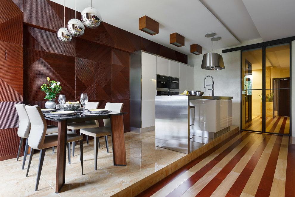 подиум в квартире дизайн интерьера