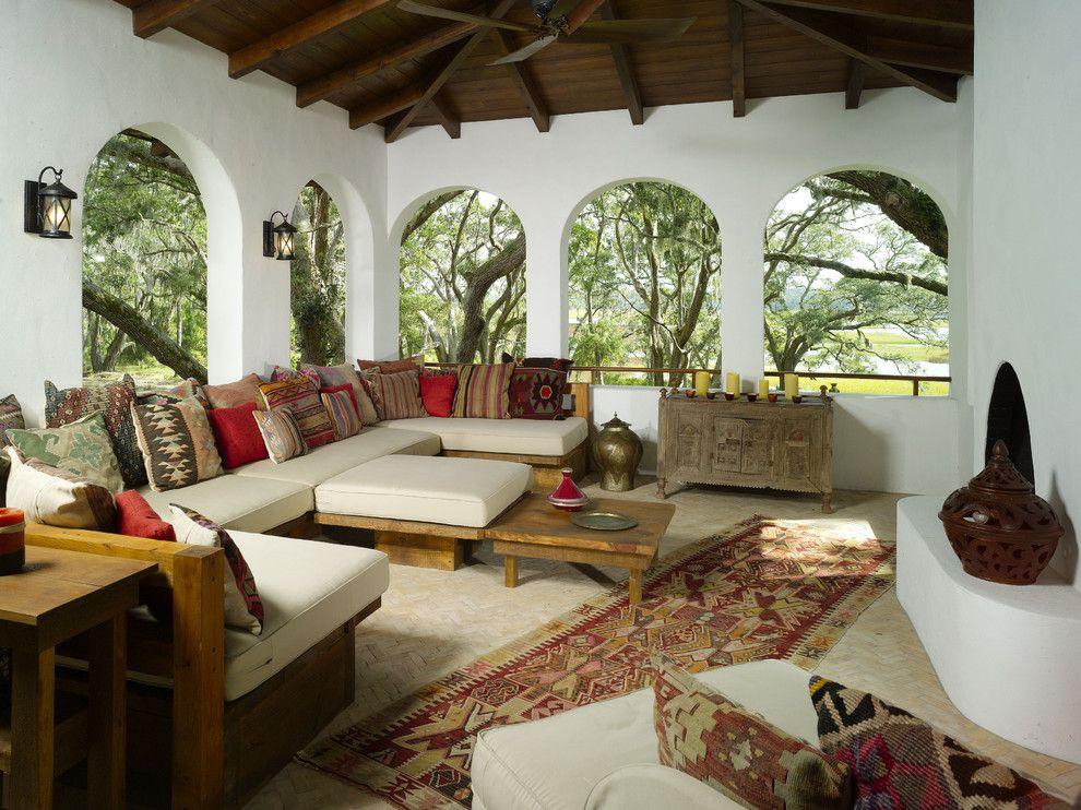Гостевая комната в арабском стиле