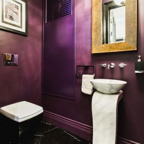 покраска стен в интерьере декор фото