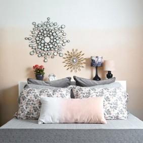покраска стен в интерьере идеи декор