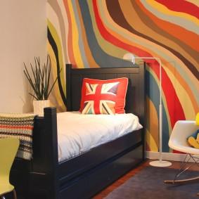 покраска стен в интерьере идеи декора