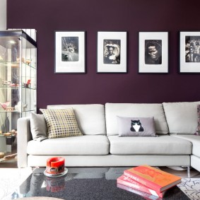покраска стен в интерьере варианты фото