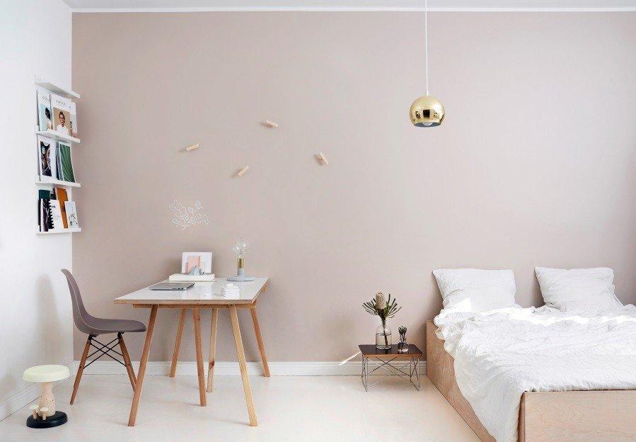 покраска стен в квартире дизайн