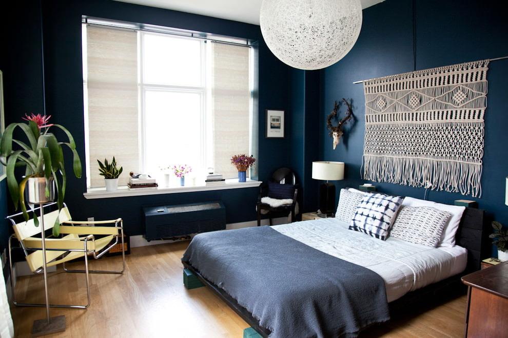 покраска стен в квартире фото