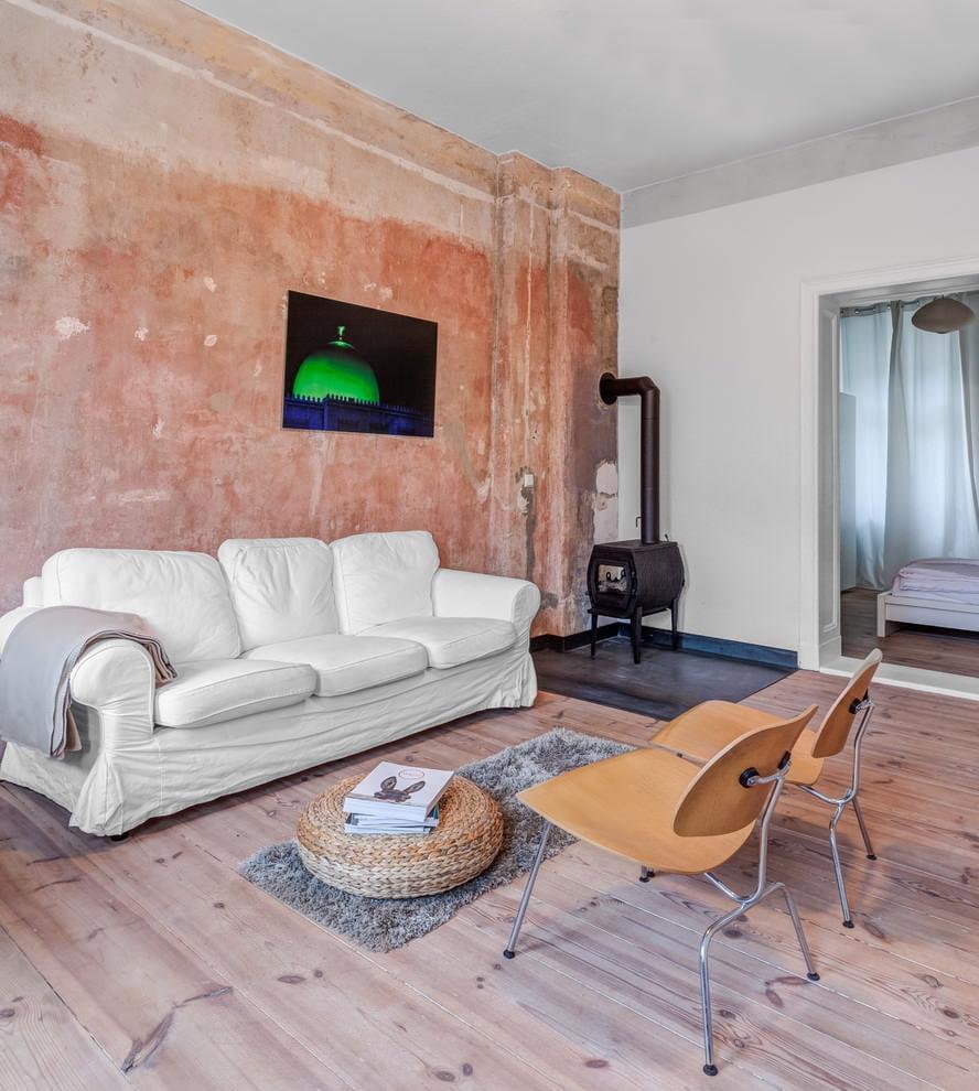 покраска стен в квартире текстурным валиком