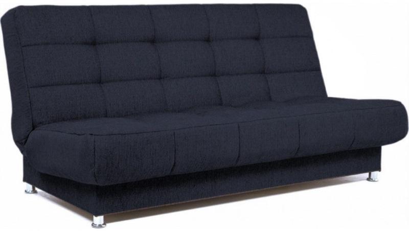 Прямой диван-книжка для маленькой комнаты