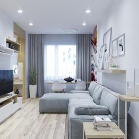 расстановка мебели в комнате декор