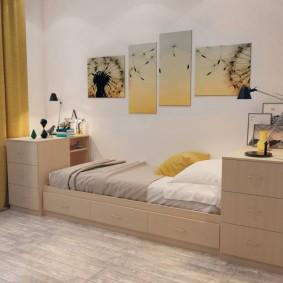 расстановка мебели в комнате идеи декора