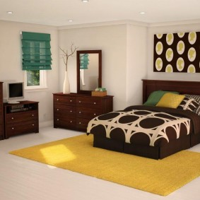 расстановка мебели в комнате оформление