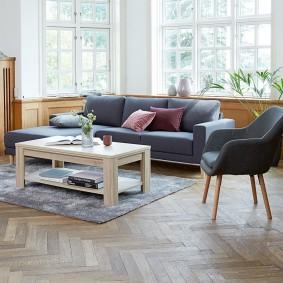 расстановка мебели в комнате фото вариантов