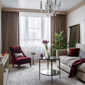 расстановка мебели в комнате идеи варианты