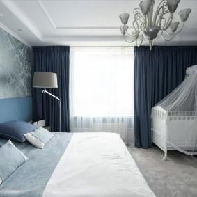спальня и детская в одной комнате фото варианты