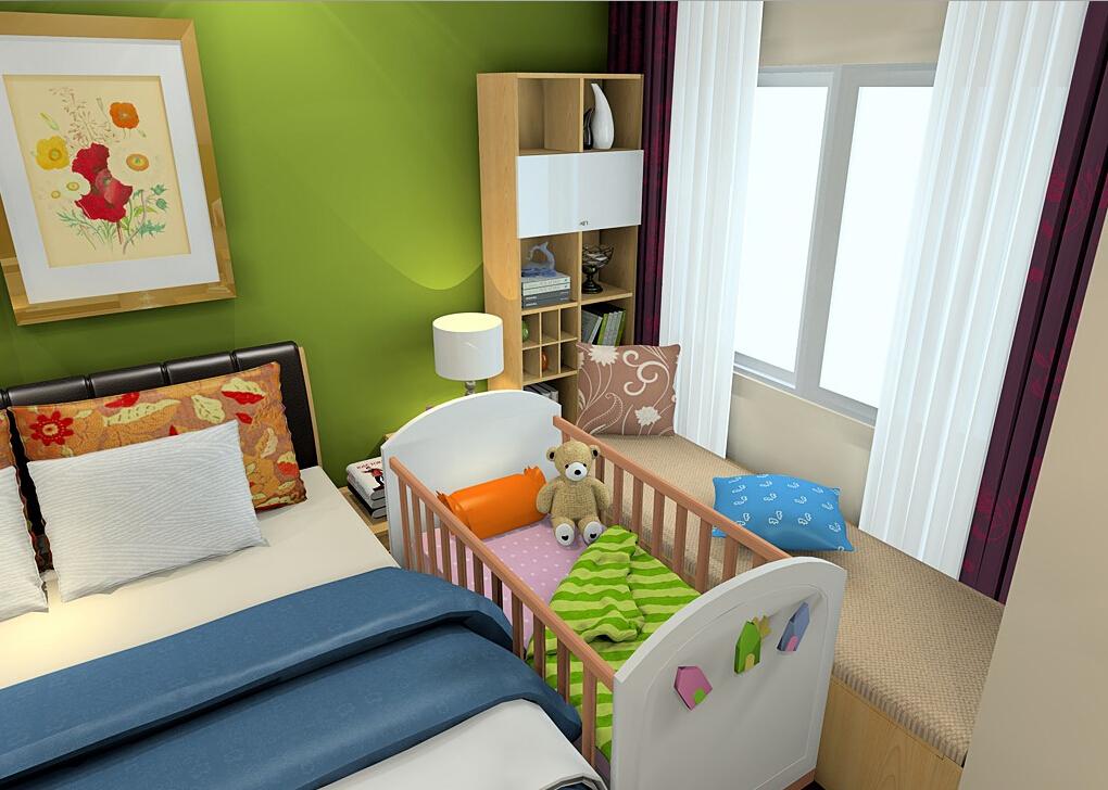 детская и спальня в одной комнате фото