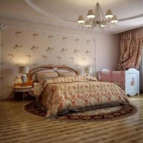 спальня и детская в одной комнате идеи варианты