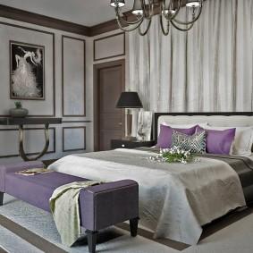 стена за кроватью в спальне виды идеи