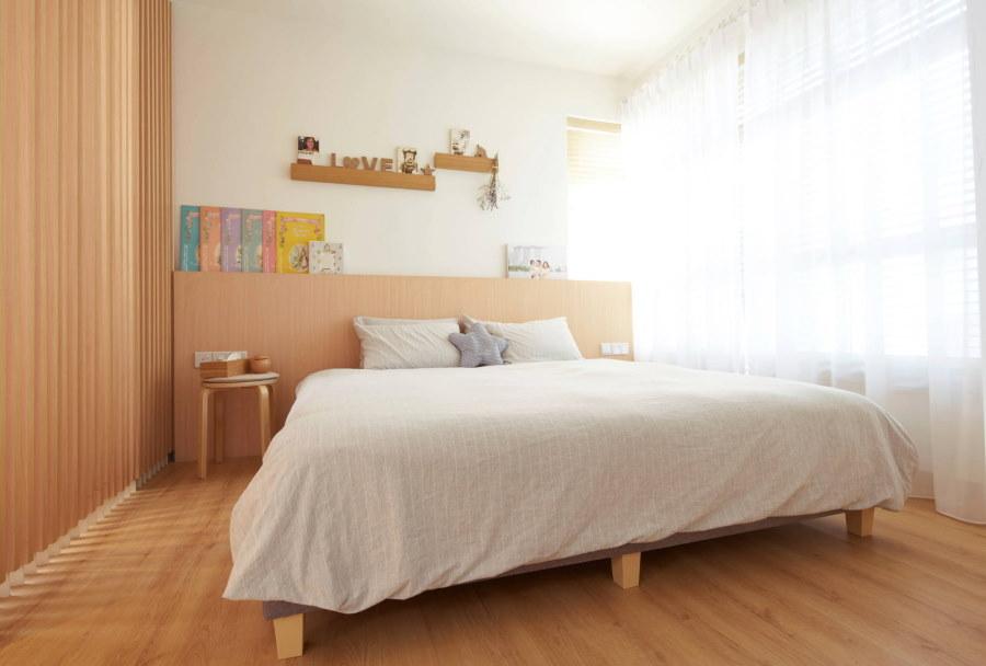 Освещение в детской комнате японского стиля