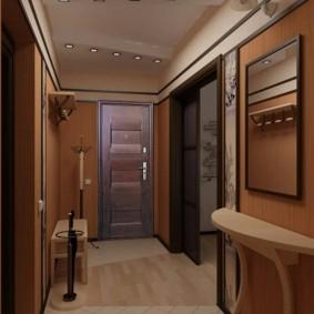 узкий коридор в квартире оформление