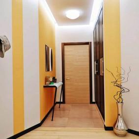 узкий коридор в квартире идеи