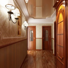 узкий коридор в квартире идеи вариантов