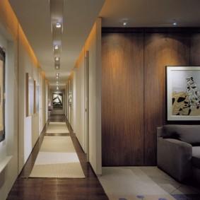 узкий коридор в квартире идеи виды