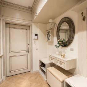 узкий коридор в квартире идеи оформления