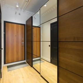 узкий коридор в квартире идеи варианты