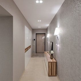 узкий коридор в квартире фото интерьера