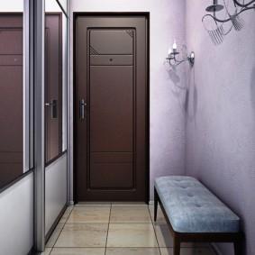 узкий коридор в квартире идеи дизайна