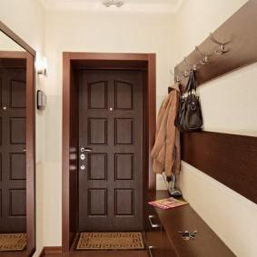 узкий коридор в квартире фото дизайн