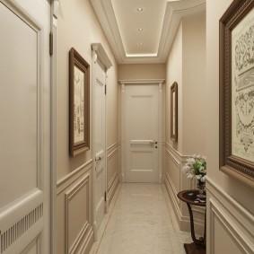 узкий коридор в квартире варианты идеи