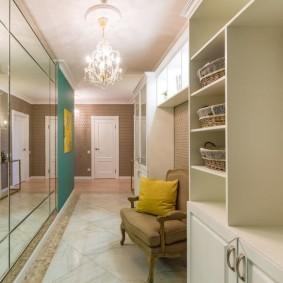 узкий коридор в квартире виды идеи
